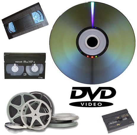 Videotape to DVD Conversion Services